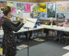 Painting with Parkinson's, July