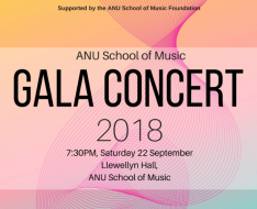 ANU School of Music Gala Concert