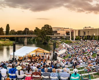 Music by the River, 2019 event