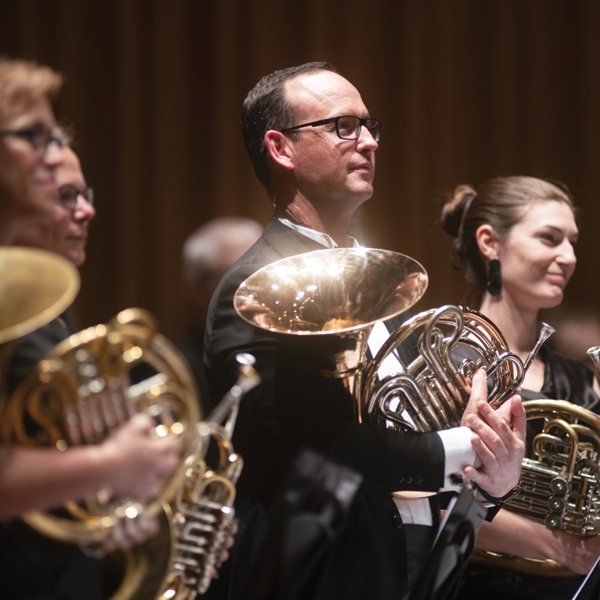 CSO French horn players