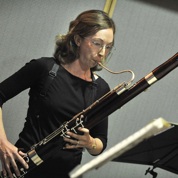 CSO bassoonist Kristen Sutcliffe